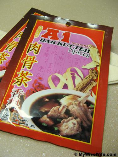 So far, A1 is the best packed Bak Kut Teh spices!