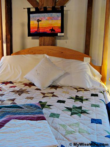 Beautiful quilt work