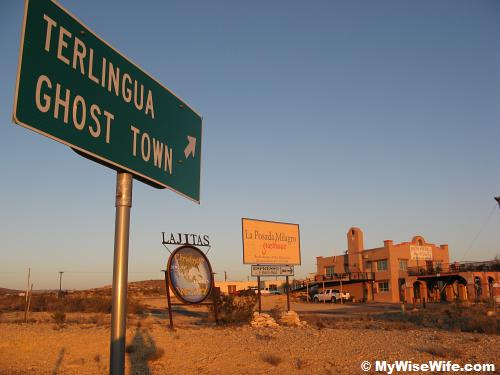 We spent 2 nights at this ghost town...