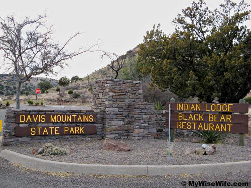 Detour to Davis Mt State Park & Indian Lodge