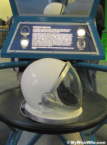 Astronaut's Helmet - very heavy as I can't lift it one handed!