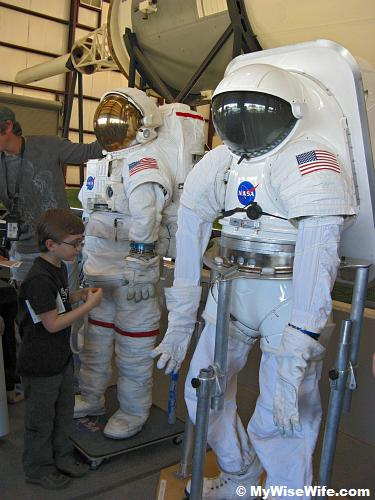 Spacesuits exhibit
