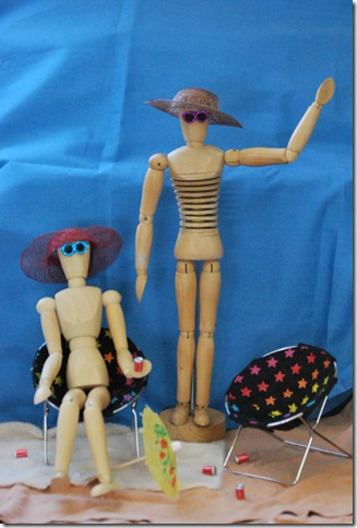 mannequins on spring break