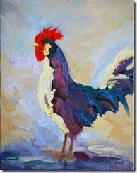 Young rooster resized