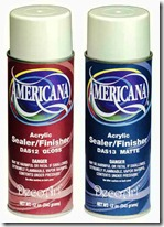Americana spray sealer