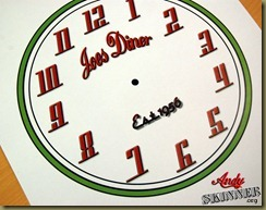Andy Skinner Retro Clock temp