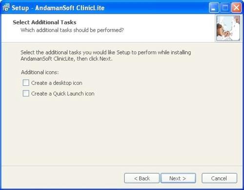 ClinicLite Setup: Create additional icons