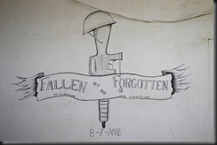 Граффити американских солдат в Афганистане