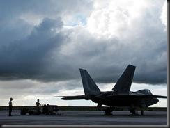 F-22A на базе