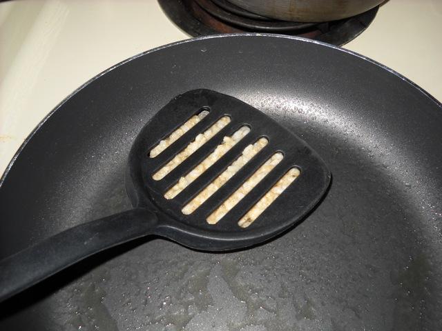 smoosh the pancakes