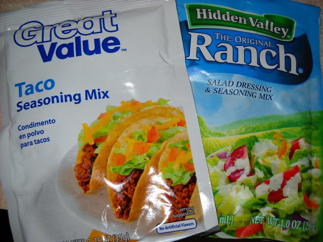 seasoning packets