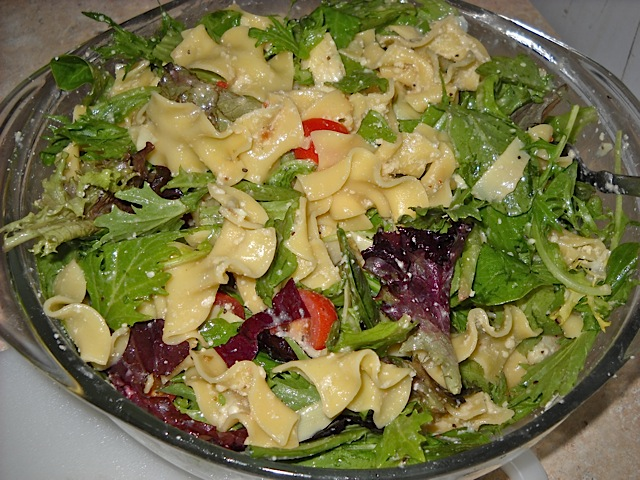 mixed pasta salad