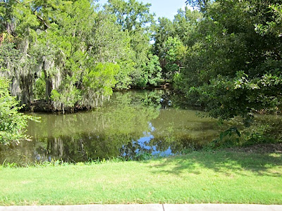 New Orleans City Park waterway