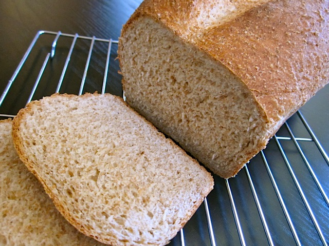 Honey Wheat Sandwich Bread