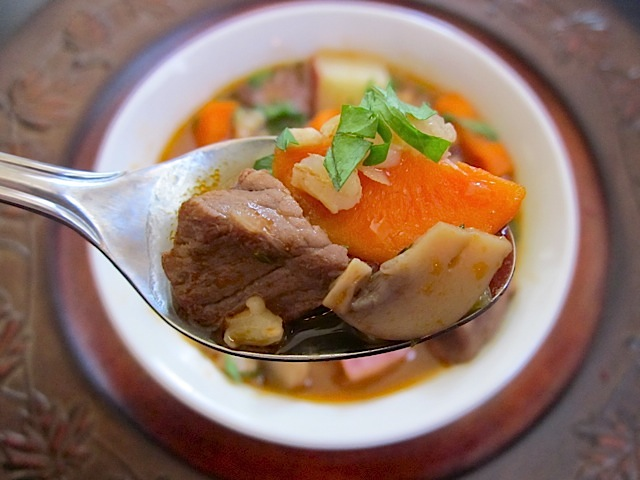 Beef and Barley Soup - BudgetBytes.com