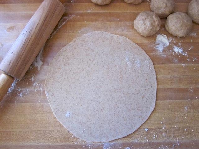 roll out tortillas
