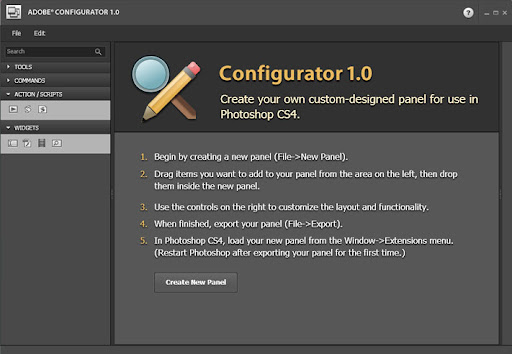 Adobe configurator-screenshot