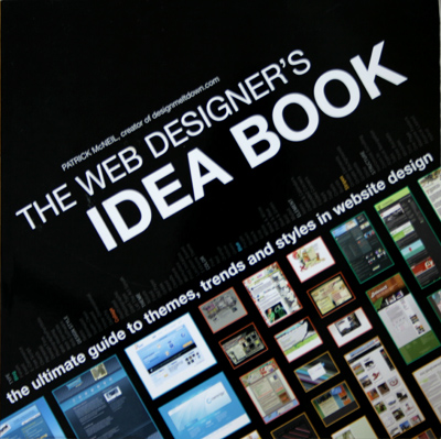 The Webdesigner's idea book-cover