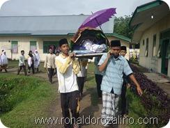 Praktek Fardhu Kifayah Penyelenggaraan Jenazah di SMAN Pintar Kuansing10