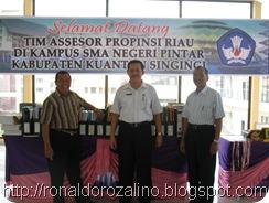 Tim Badan Akreditasi Propinsi; Meng Akreditasi SMAN Pintar  2