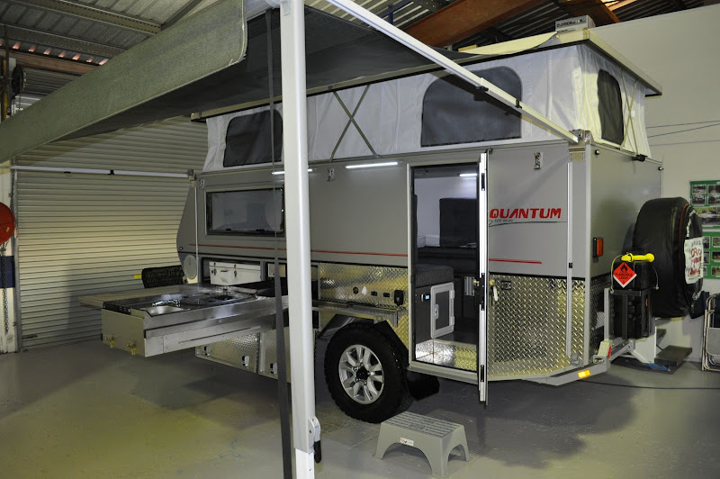Brilliant These Caravans Are A Whole Industry In Australia And Are Unique To Here The Video Shows The Nova Terra Sportz A Lightweight Version Of The Breed You Make Think That This TT Acts More Like A Truck Camper Than A TT Off Road