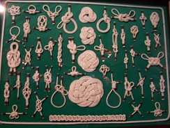 Knot collection at Basque Museum