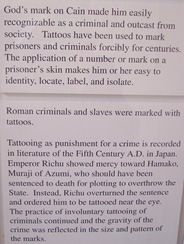 Tattoo exhibit