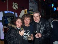Three dorks at Cactus Bar