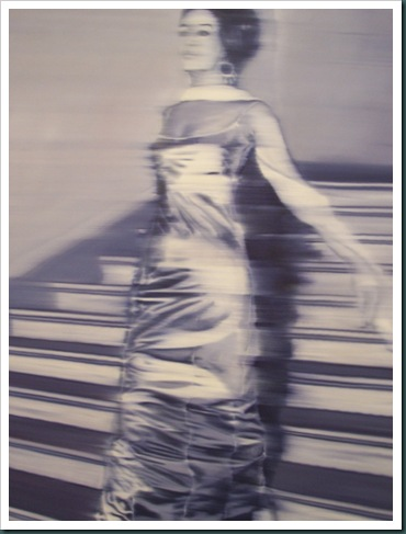 Woman Descending the Stairs by Gerhard Richter