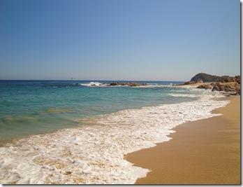 7.  Rocky beach
