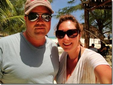 17.  Logan and Lorin at Passion Island