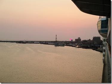 4.  Sunrise in galveston