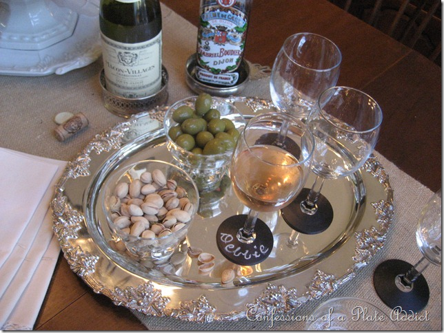 CONFESSIONS OF A PLATE ADDICT Chalkboard Wine Glasses