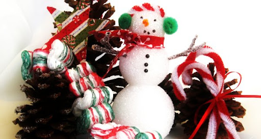 Homemade Christmas Ornaments for kids