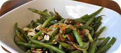 Thumbnail image for Green Beans With Caramelized Onions and Toasted Almonds