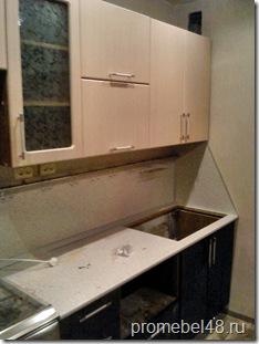 кухня в одну линию фото