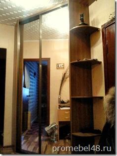 встроенный угловой шкаф купе