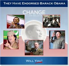 terrorists support Obama