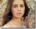 close up portrait desktop screen of tv actress eliza dushku