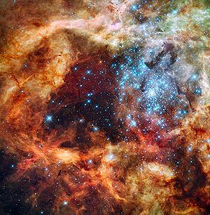 Cúmulo estelar joven