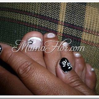 Como hacer diseños en tus manos y pies | Pedicure & Manicure