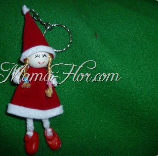 Ideas para Navidad: ¡Llavero Navideño para Niñas! - Paso a Paso