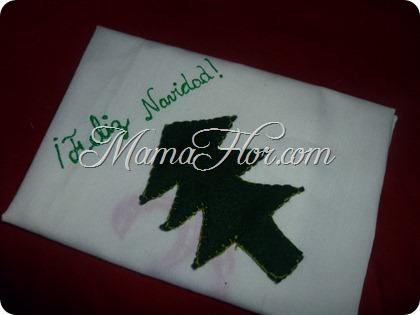 Como decorar las Servilletas para la Navidad