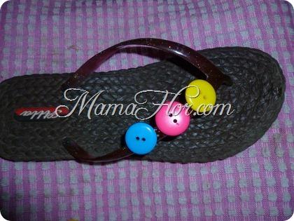 Decora tus Sandalias este Verano con Botones de colores
