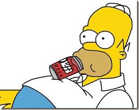 Homer y duff