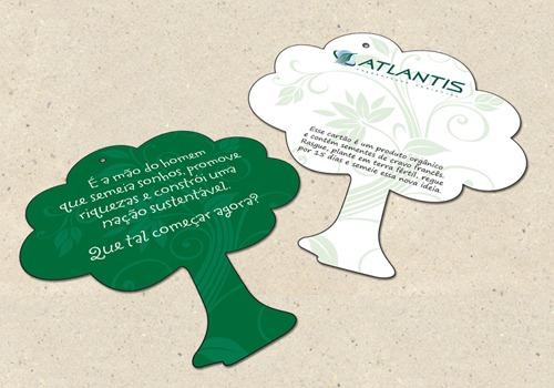 Cartão de Natal Atlantis 2010