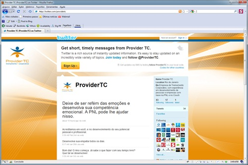 Twitter Provider TC