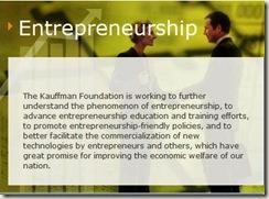 kauffman entrepreneurship