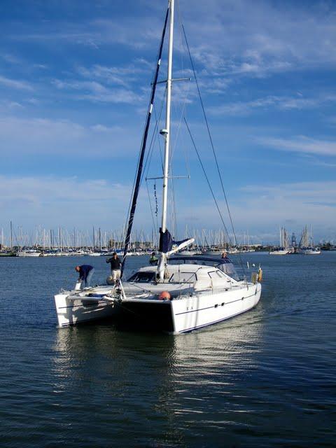 sailing vessel Excellent Adventure