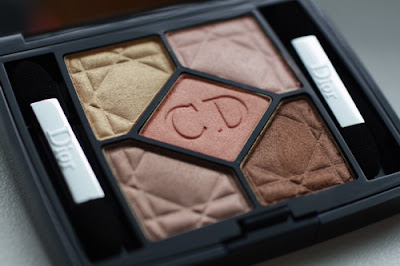 5 colour iridescent eyeshadow 659 crush glow.Dior